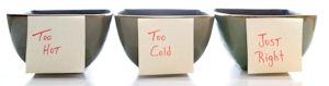 goldilocks 3 bowls